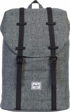 Herschel Retreat Mid-Volume Scattered Raven Crosshatch/Black