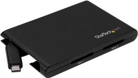 StarTech Dual SD kaartlezer - USB 3.0 met USB-C