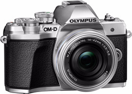 Olympus E-M10 Mark III Body Zilver + 14-42mm