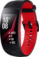 Samsung Gear Fit 2 Pro Zwart/Rood L BE