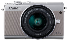 Canon EOS M100 + 15-45mm Zilver Limited Edition