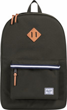 Herschel Offset | Heritage Forest Green/Veggie Tan Leather