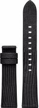 Michael Kors Access 18mm Lederen Horlogeband Zwart