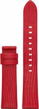 Michael Kors Access 18mm Lederen Horlogeband Rood