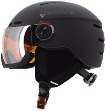 Brunotti Oberon 4 Unisex Black + Orange Mirror Vizier (59 -
