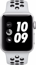 Apple Watch Series 3 Nike+ 42mm Zilver Aluminium/Zwart Sport