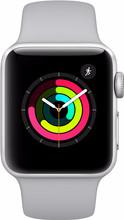 Apple Watch Series 3 42 mm Zilver Aluminium/Grijze Sportband