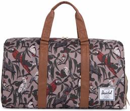 Herschel Novel Brindle Parlour/Tan Synthetic Leather