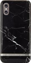 Richmond & Finch Marble iPhone X Zwart