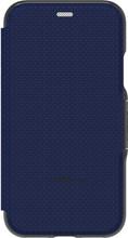 GEAR4 D3O Oxford iPhone X Book Case Blauw
