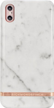 Richmond & Finch Marble iPhone X Back Cover Wit
