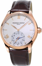 Frederique Constant Horological Wit/Donkerbruin