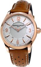 Frederique Constant Horological Wit/Bruin