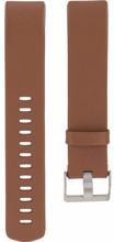 Fitbit Charge 2 Lederen Horlogeband Bruin Large