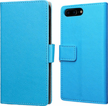 Just in Case Wallet OnePlus 5 Book Case Blauw