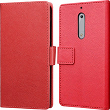 Just in Case Wallet Nokia 5 Book Case Rood