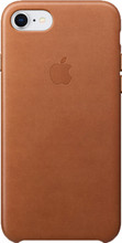 Apple iPhone 7/8 Leather Back Cover Bruin