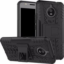 Just in Case Rugged Hybrid Moto E4 Plus Back Cover Zwart