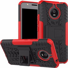 Just in Case Rugged Hybrid Moto E4 Plus Back Cover Rood