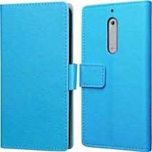 Just in Case Wallet Nokia 5 Book Case Blauw