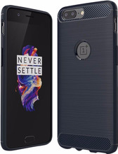 Just in Case Rugged TPU OnePlus 5 Back Cover Blauw