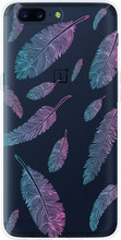 Just in Case Feathers OnePlus 5 Back Cover