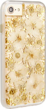 Case-Mate Karat Petals iPhone 7/8 Back Cover Goud