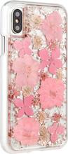 Case-Mate Karat Petals iPhone X Back Cover Roze