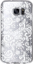 GoCase TPU Galaxy S7 Edge Back Cover Lace