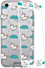 GoCase Kit iPhone 7 Full Body Unicorns