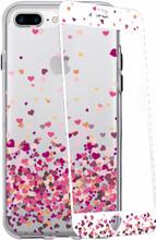 GoCase Kit iPhone 7+ Full Body Hearts