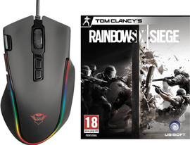 Trust GXT 188 Laban Gaming Muis + Rainbow Six Siege