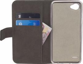 Mobilize Classic Gelly Wallet LG Q6 Book Case Zwart