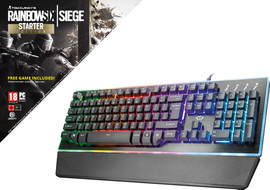 Trust GXT 860 Thura Semi-mechanical + Rainbow Six Siege