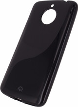 Mobilize Gelly Motorola Moto E4 Plus Back Cover Zwart