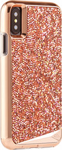 Case-Mate Brilliance iPhone X Back Cover Rose Gold