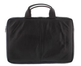 Plevier Lederen Laptop Sleeve 15,6'' Zwart