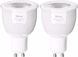 Trust Smart Home GU10 White & Flame Duopack