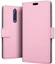 Just in Case Wallet Nokia 8 Book Case Roze