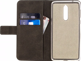 Mobilize Classic Gelly Wallet Nokia 8 Book Case Zwart