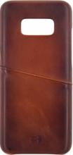 Senza Desire Leather CS Galaxy S8 Back Cover Bruin