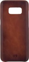 Senza Desire Leather Galaxy S8 Back Cover Bruin