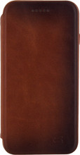 Senza Desire Skinny Leather Wallet 6/6s Book Case Bruin