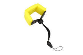 JJC Floating Foam Wrist Strap Yellow