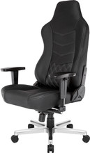 AK Racing ONYX Full Leather Gaming Chair Zwart