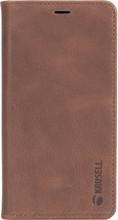 Krusell Sunne 4 Card iPhone X Book Case Bruin