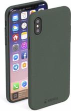 Krusell Sandby iPhone X Back Cover Groen