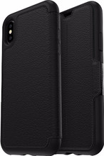 Otterbox Strada iPhone X Book Case Zwart