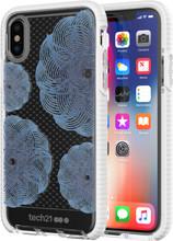 Tech21 Evo Check Evoke iPhone X Back Cover Blauw