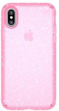 Speck Presidio Glitter iPhone X Back Cover Roze